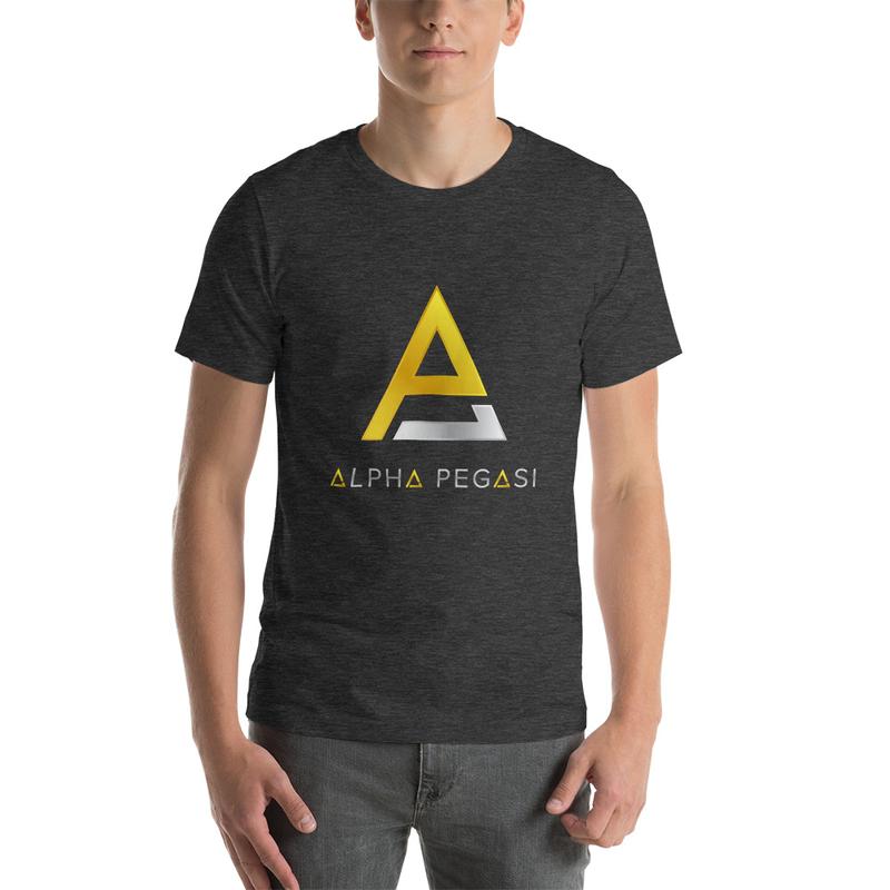 Alpha Logo Short-Sleeve Unisex T-Shirt