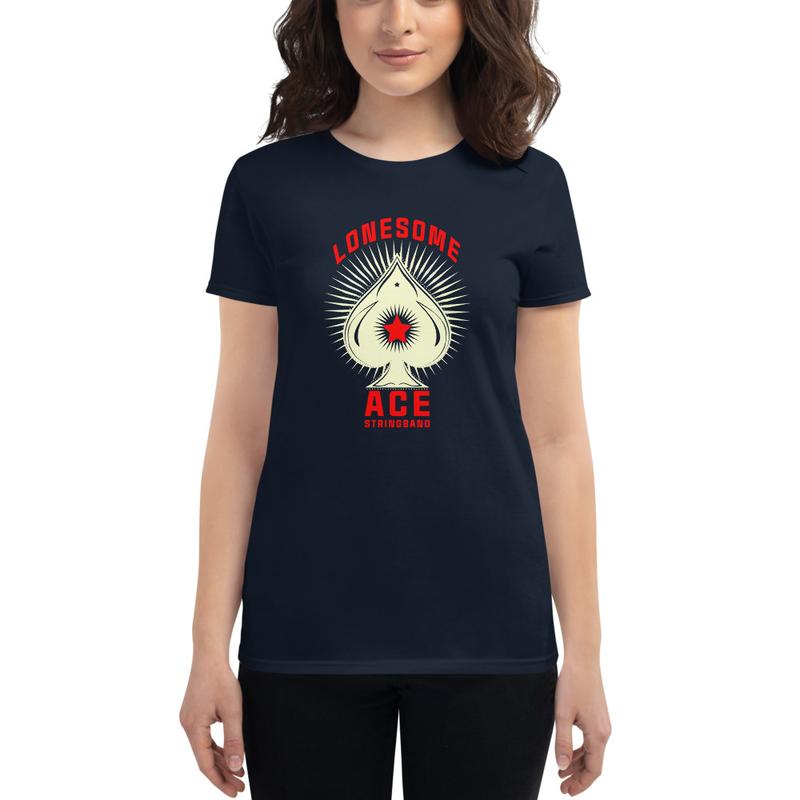 Women's short sleeve t-shirt Ace (white)