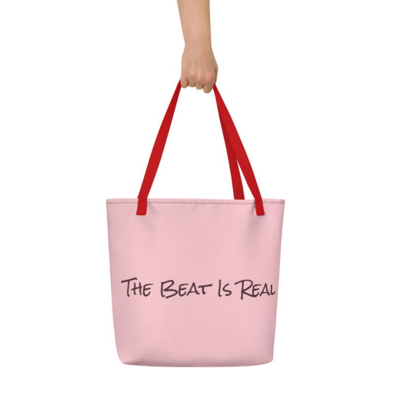 Beach Bag (The Beat Is Real Pink)