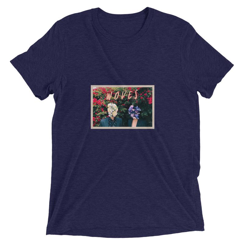 Short sleeve t-shirt (Woves - Flowers)