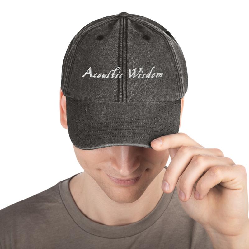 Acoustic Wisdom Vintage Hat