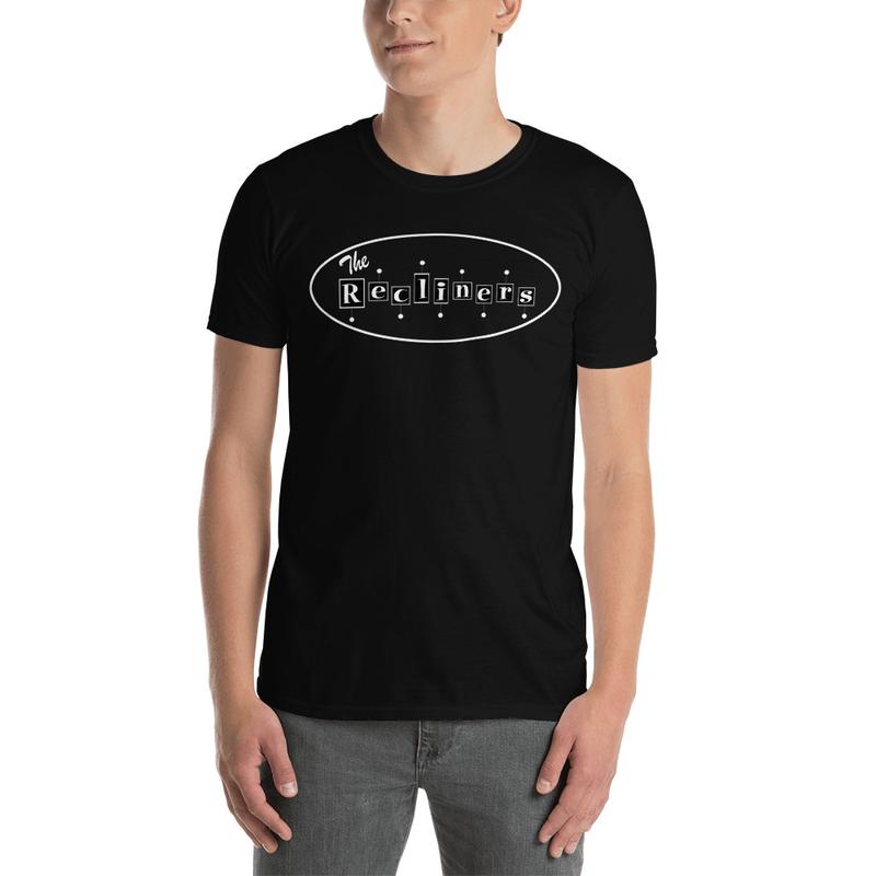 Short-Sleeve Unisex T-Shirt Black with Front & Back