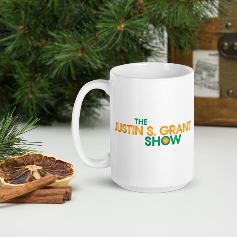 """""""The JSG Show"""" - Double-sided - White Mug"""