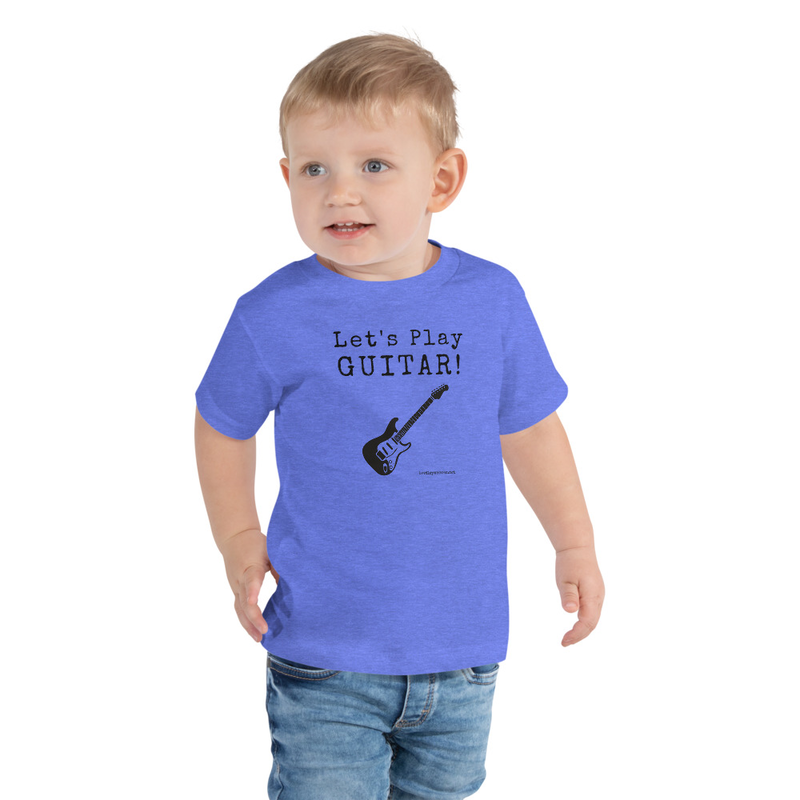 Let's Play Guitar- Toddler Tee