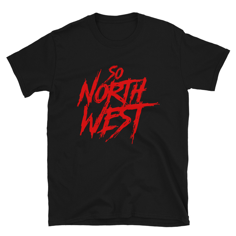 So North West Red Logo Short-Sleeve Unisex T-Shirt