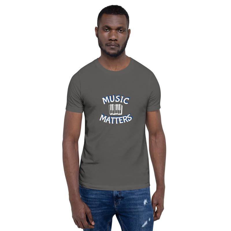 Music Matters (Keys) Unisex T-Shirt