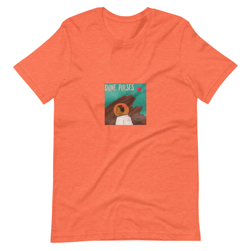 Short-Sleeve Unisex T-Shirt (Dune Pulses - Astronaut)