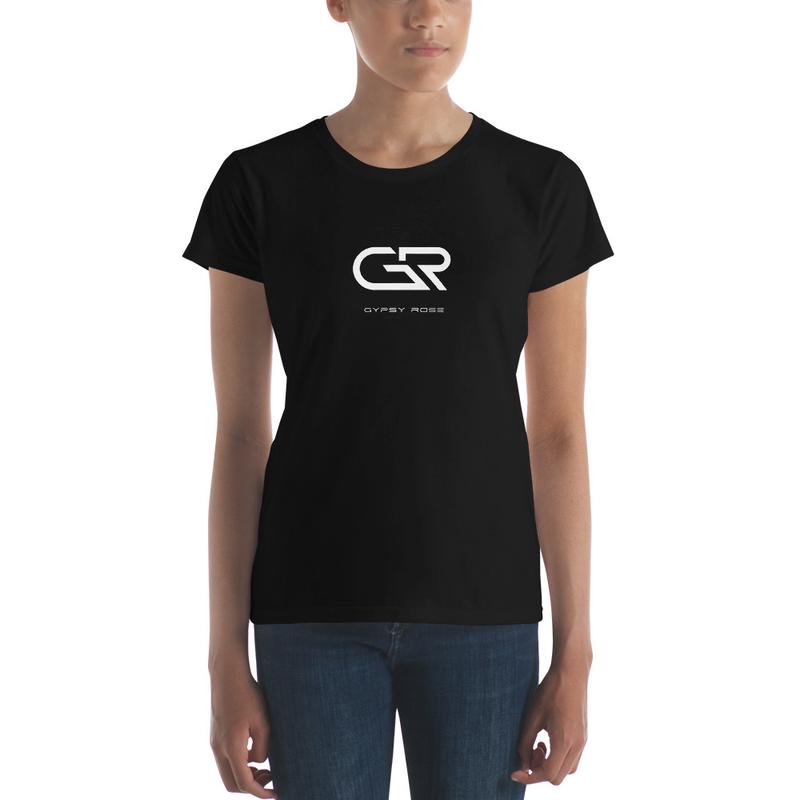 Women's short sleeve t-shirt Black