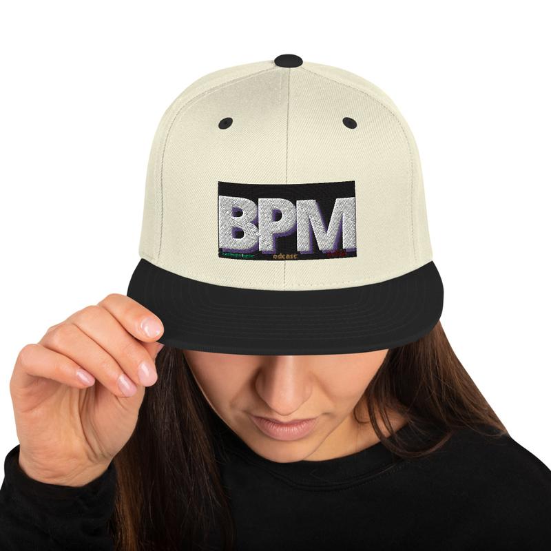 BPM Snapback Hat