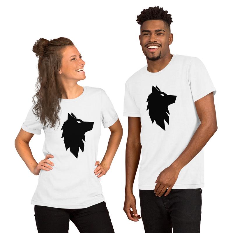 Black Wolf Unisex T-Shirt