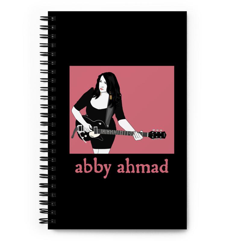 Abby Guitar Spiral Notebook
