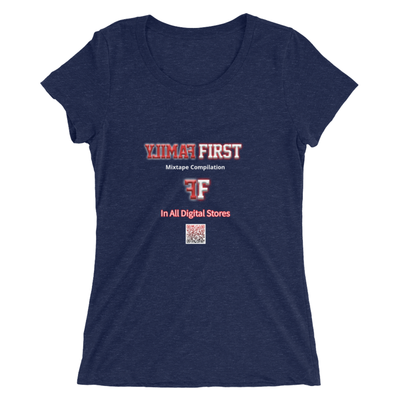 Ladies' Family First QR Scan T-Shirt