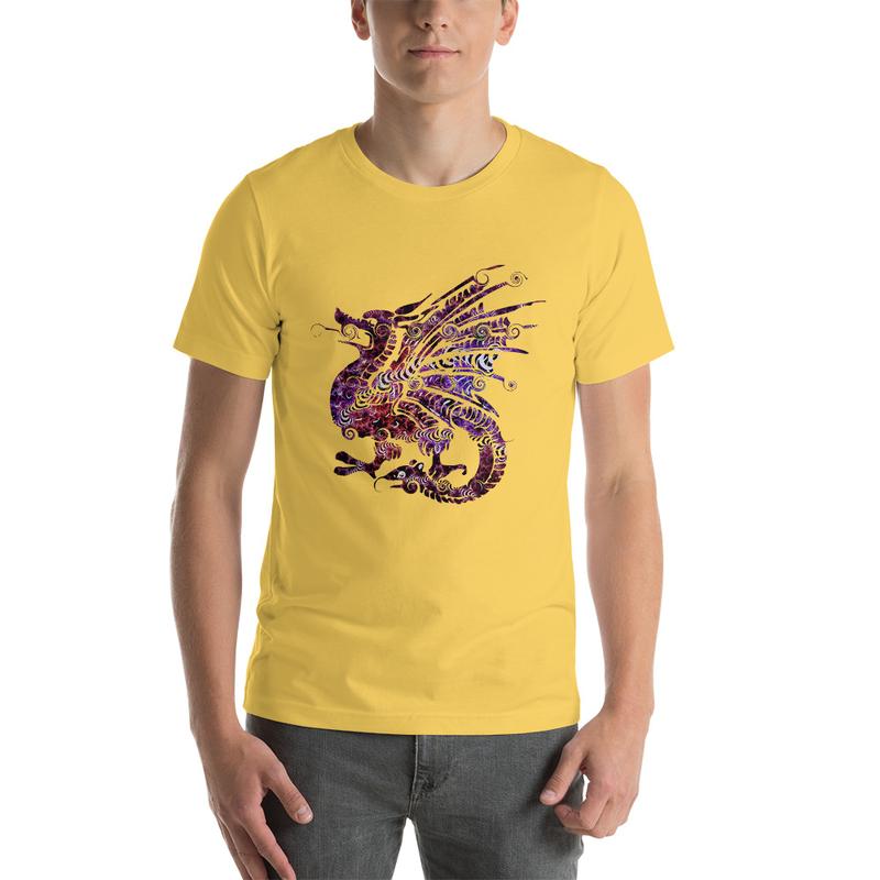 Casanova Dragon Beast Short-Sleeve Unisex T-Shirt