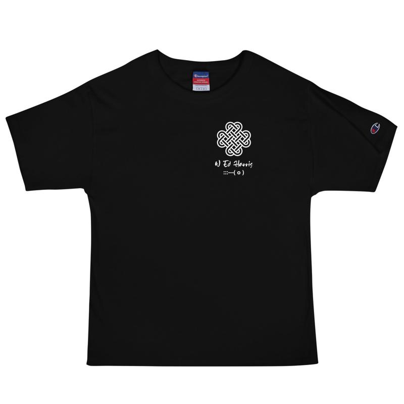 Men's Champion T-Shirt - Foggy Dew Back