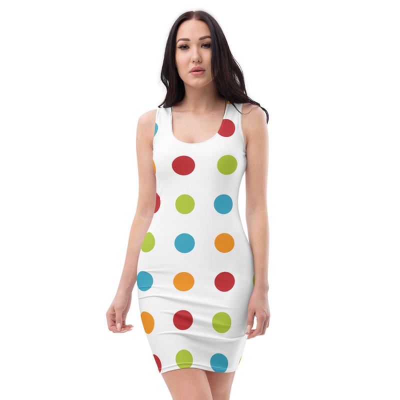 Multi Color Polka Dots