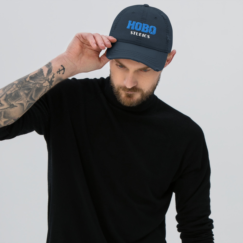 Hobo Studios Distressed Hat