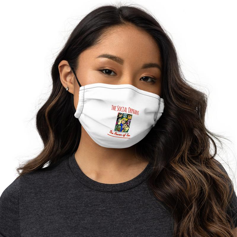 The Social Orphans Power of Ten Premium face mask