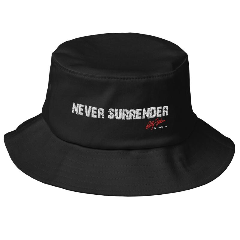 """""""Never Surrender"""" Bucket Hat"""