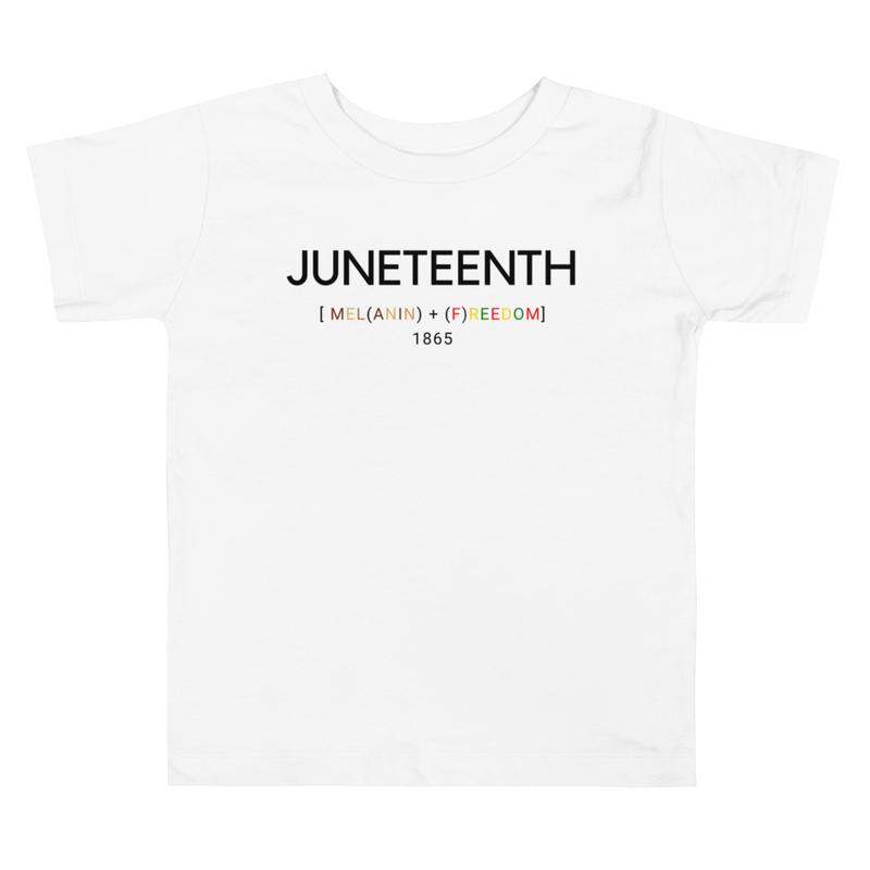Juneteenth Toddler Short Sleeve Tee