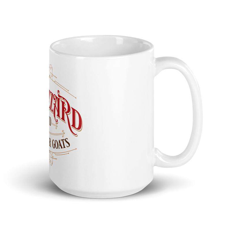 KTMFG - White glossy mug
