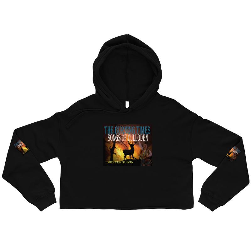 Crop Hoodie - The Burning Times