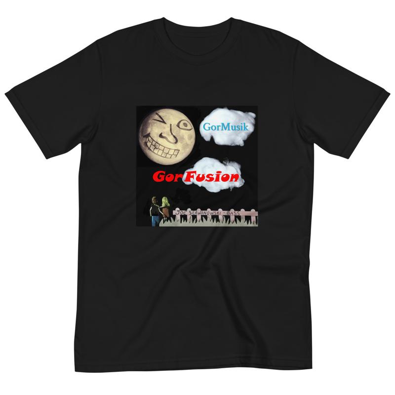 GorMusik Moon Wink Unisex Organic Cotton T-Shirt