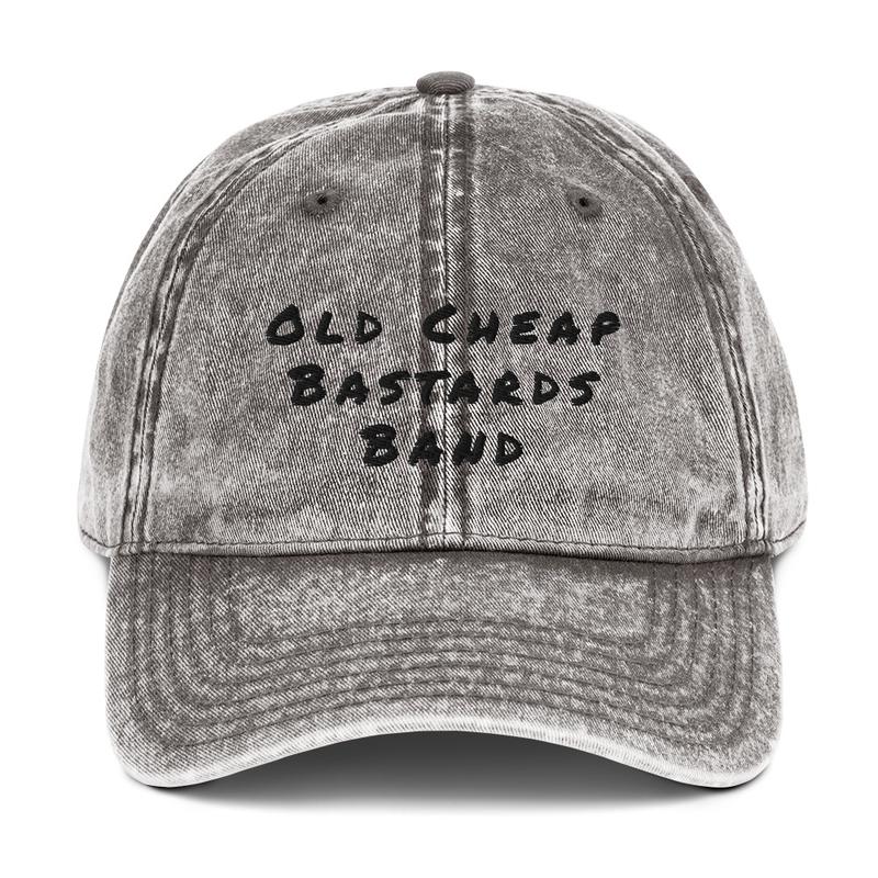 O-C-B-B - Vintage Cotton Twill Cap