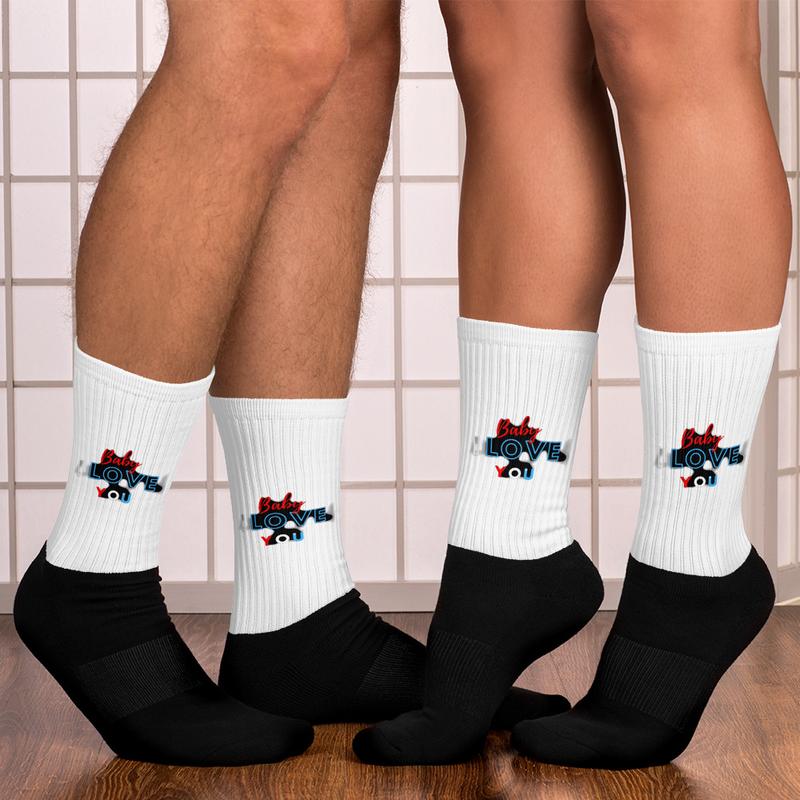 BABY I LOVE YOU Socks