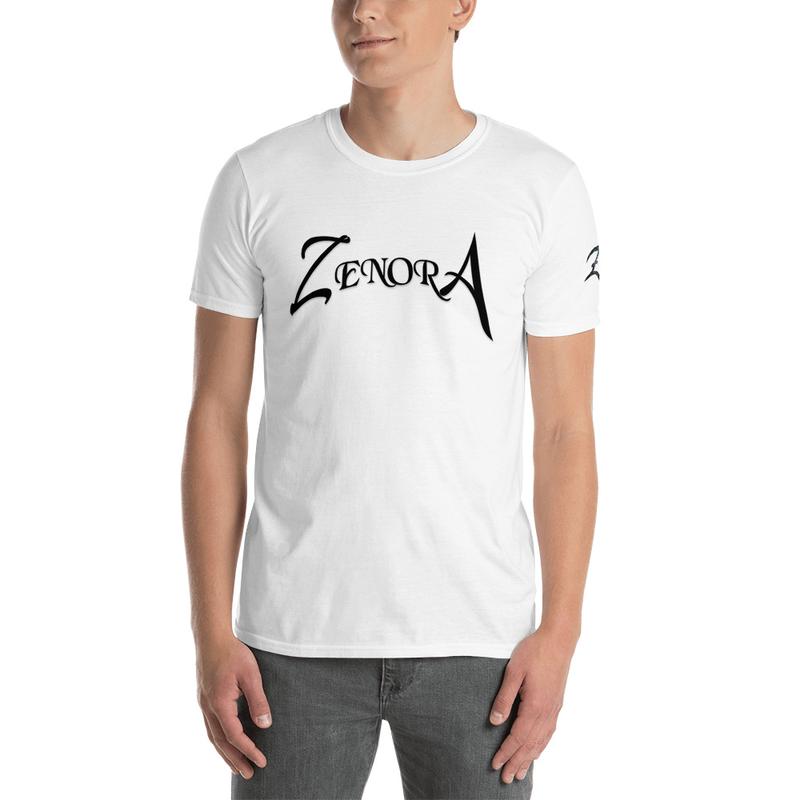 White Zenora Logo Unisex T-Shirt