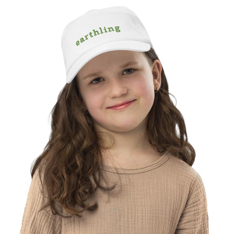 Kids earthling cap