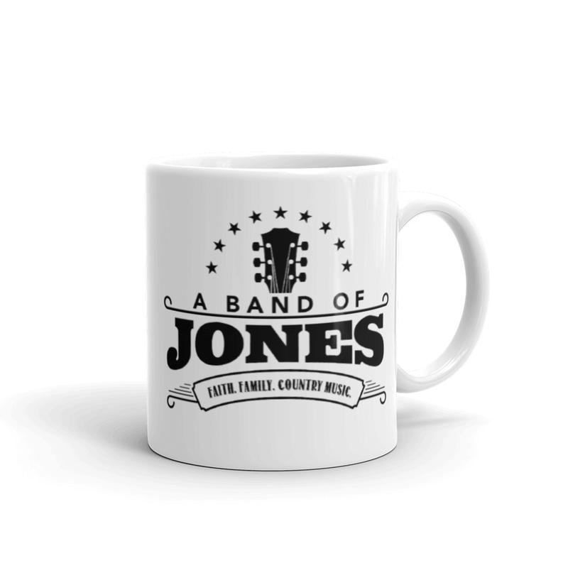 A Band of Jones Mug