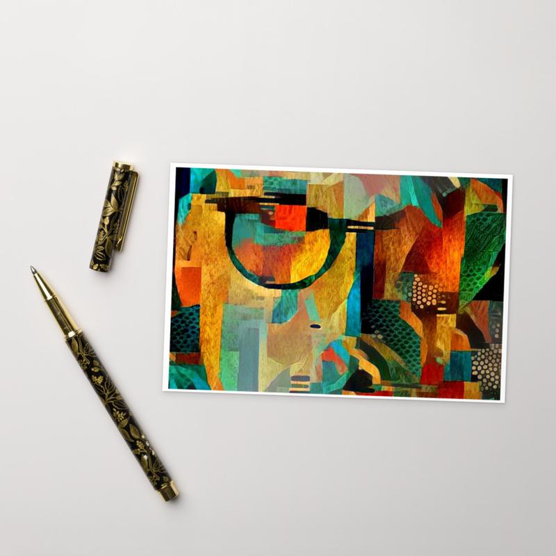 Standard Postcard - 'Pray On' Art Work