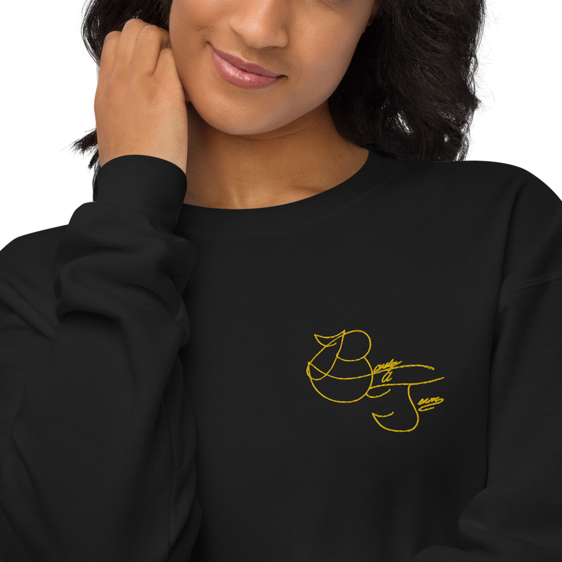 Barely a Sweatshirt (Embroidered)