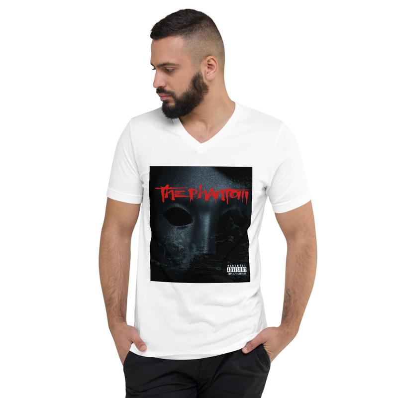 The Phantom Album Cover Unisex Short Sleeve V-Neck T-Shirt