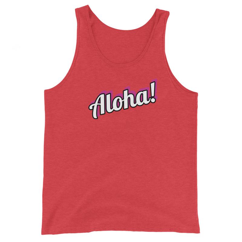 Unisex Tank Aloha