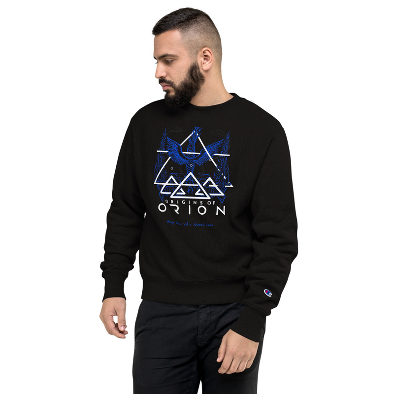 Blue Sacrifice Champion Sweatshirt