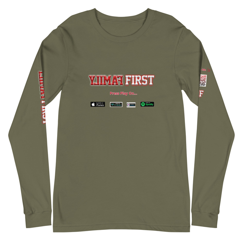 CDMG Family First Promo Long Sleeve Tee