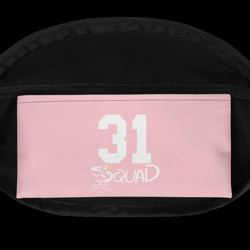 """Pink """"I Ain't Sorry"""" Shoulder Bag"""
