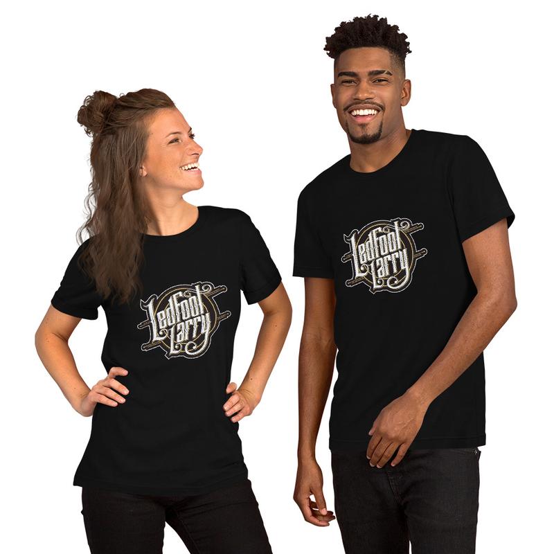 Ledfoot Larry LOGO | Unisex T-Shirt (BLK)