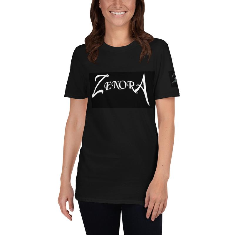 Black Zenora Logo Unisex T-Shirt