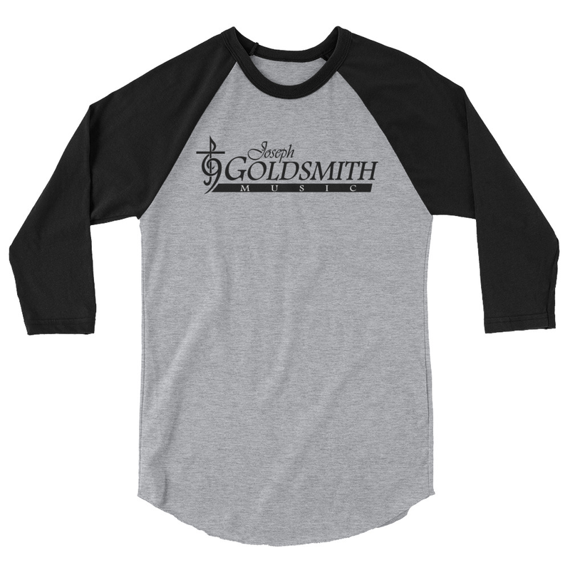 JG Music - 3/4 sleeve raglan shirt
