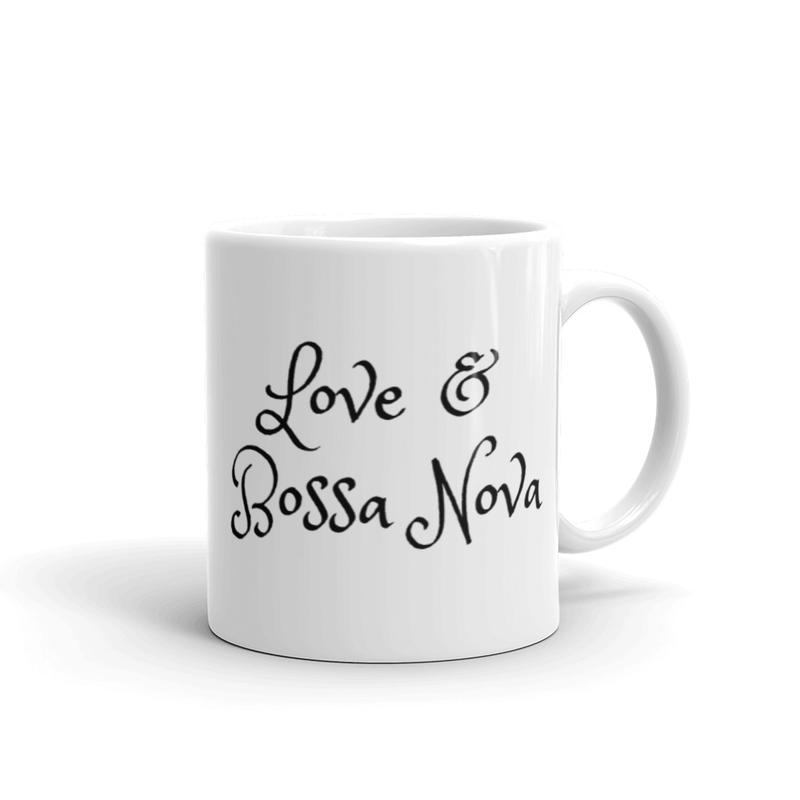 White Love & Bossa Nova Mug