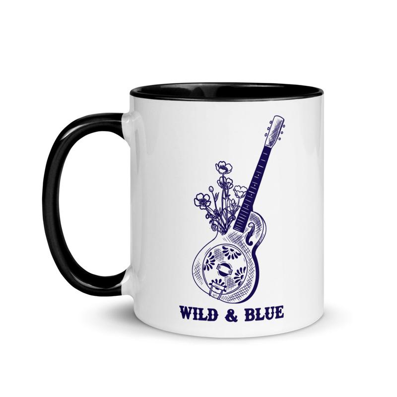 Wild & Blue - Guitar Mug