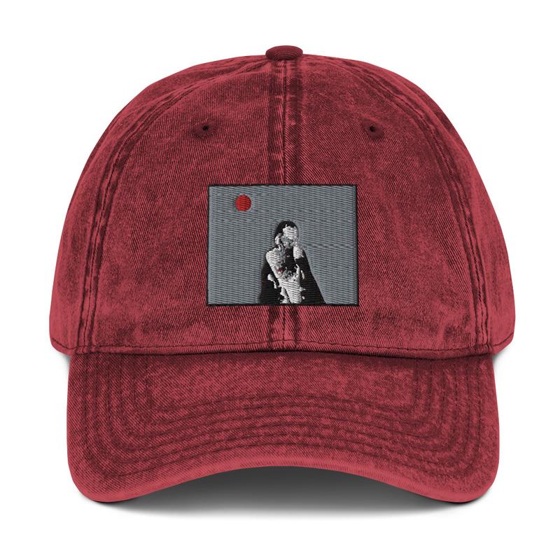 Vintage Cotton Twill Cap (Will Phåråoh - sexsax Grey Sky)