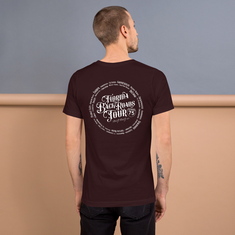 Black Swamp FLORIDA BACK ROADS TOUR Short-Sleeve Unisex T-Shirt