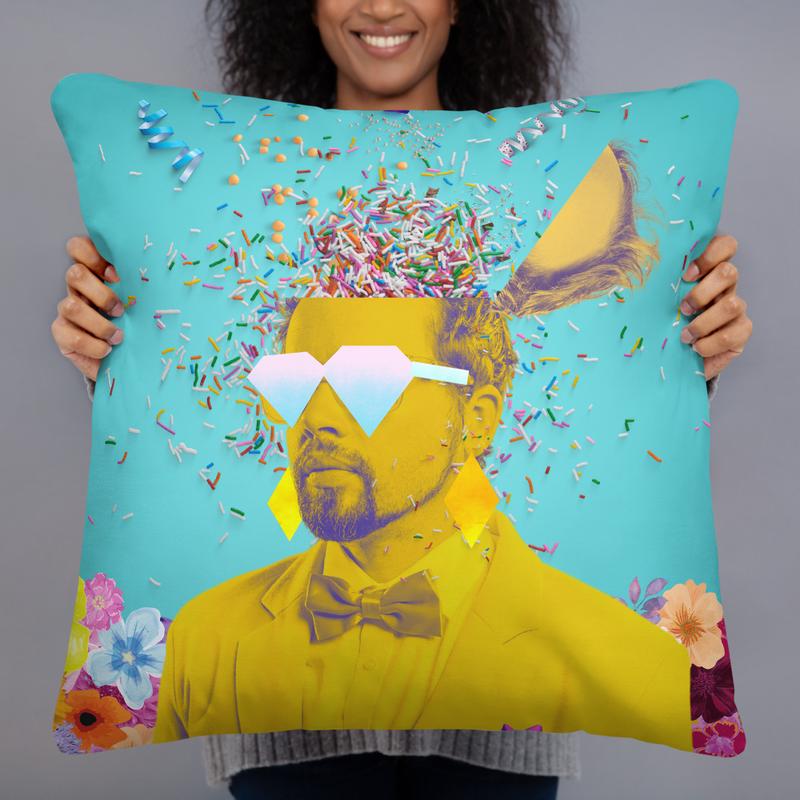 Polish Party Pillow