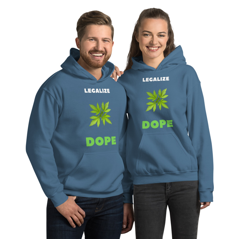 Legalize Dope Unisex Hoodie