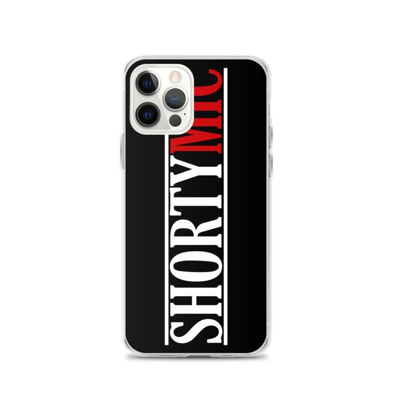 Shorty Mic, Black iPhone Case