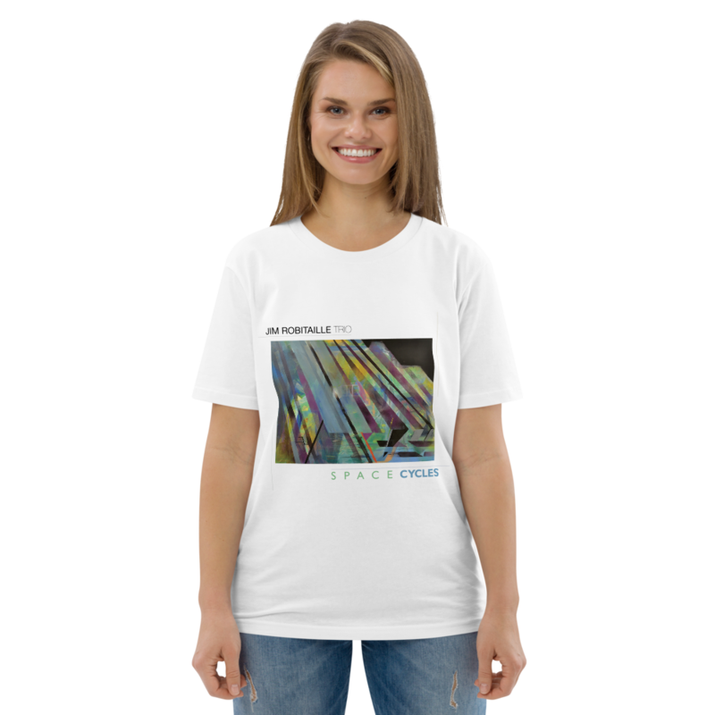 Space Cycles Unisex organic cotton t-shirt