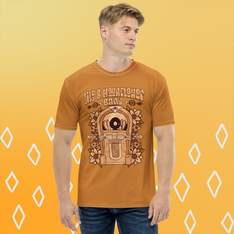 Limited Edition Autumn Jukebox T-shirt for Men